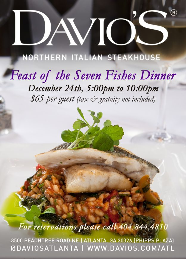 Celebrate feast of the seven fishes at davio s on for What is the feast of seven fishes